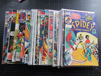 Mixed Lot Of 24 Marvel Bronze Capt Marvel Spidey Dr Strange