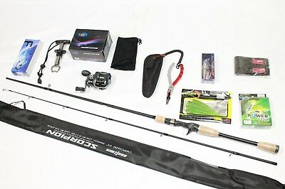 Super Combo Promotion!! -Baitcaster Sport Fishing Combo- Rod & Reel & MORE