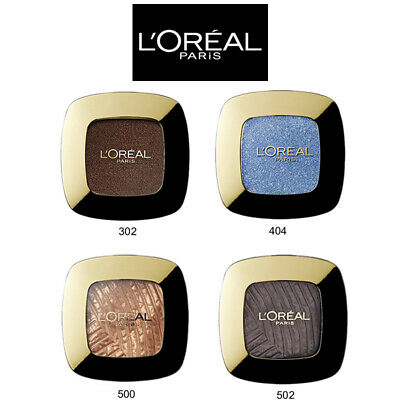 L' Oreal OMBRETTI 302 404 500 502 EYE SHADOWS