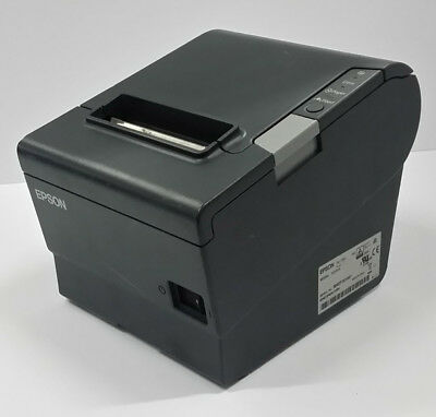 USED Epson TM-T88V M244A Point Of Sale Thermal Receipt Printer USB Serial 880E