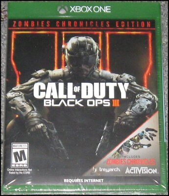 Call of Duty: Black Ops III 3 - Zombie Chronicles Edition - Xbox One - New