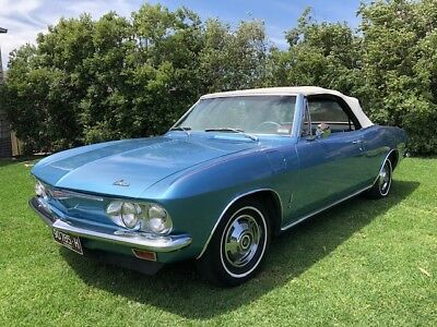 1965 Chevrolet Corvair 6cyl Auto Convertible