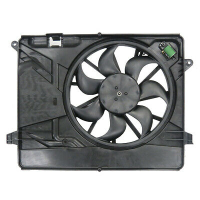 New Dual Radiator & Condenser Fan Fit Buick Encore Chevrolet Trax 14-18 95301357