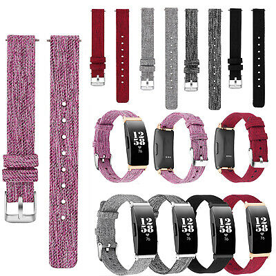 Sports Nylon Woven Fabric Wristband Strap Band For Fitbit Inspire/HR Wristwatch