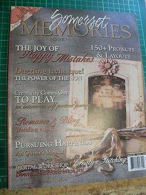 Somerset Memories by stampington and co scrapbooking heritage art vol 7 issue 2