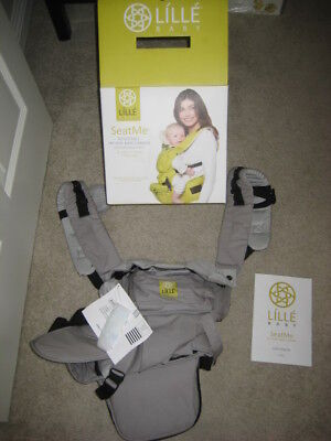 Lille Baby SeatMe baby carrier NEW --Grey Cotton color