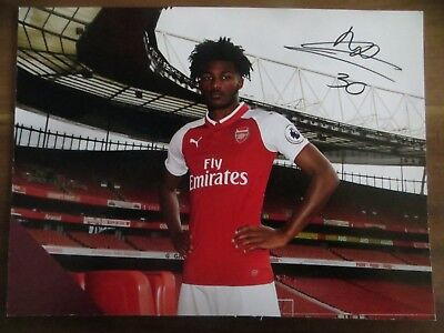 Autogrammkarte AK *AINSLEY MAITLAND-NILES* FC Arsenal London 17/18 2017/2018