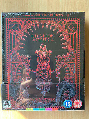 Crimson Peak 2015 Gotico Cult Horror Edizione Limitata Arrow Video UK Blu-Ray