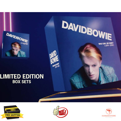 "David Bowie ""Who Can I Be Now 1974 To 1976"" 12 CD Box Set NEW Sealed"