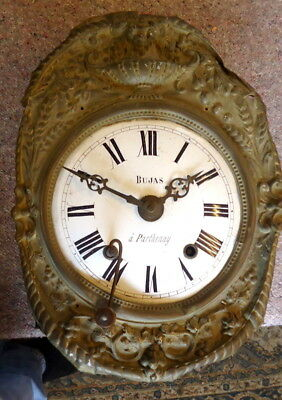 """FRENCH BUJAS"" Comptoise Figurall Longcase Clock for Restoration &  Key, c1790"