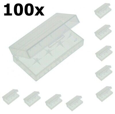 AU ON1726-100x Transportbox for 18650 Batteries 100 Pieces