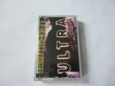 Depeche Mode ~ Ultra ~ Rare Mute 1997 Uk Synth Pop/Alt' Rock Cassette Tape