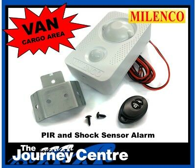 Ford Transit Connect Van Cargo Alarm Security 12v Shock Sensor Remote Milenco