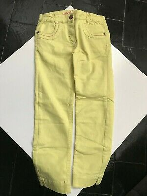 Pantalon fille 3/4 Jaune Sergent Major 14 ans