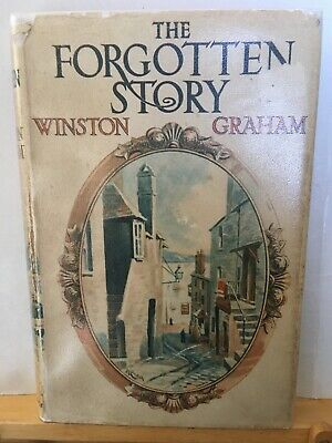The Forgotten Story by Winston Graham, hb in jacket, Cornwall, Poldark author