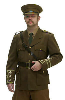 WW1 British army officer FULL UNIFORM - made to order