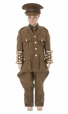 Childrens WW1 British army officer FULL UNIFORM - made to order