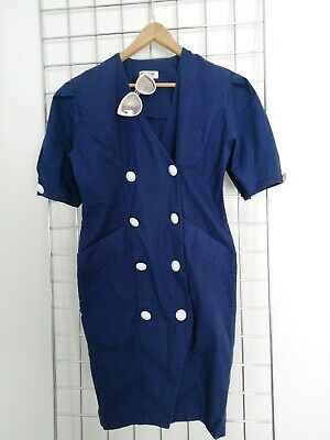 Vintage 80s denim dress