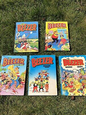 The Beezer Book Annuals! 5 Books Or Can Be Sold Separately