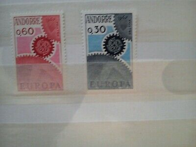 5 paires - ANDORRE  Europa  n179/180 NEUF sans charniere cote  125 euros