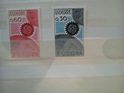 Timbres neufs** - ANDORRE  Europa  n179/180 NEUF sans charniere cote 25 euros