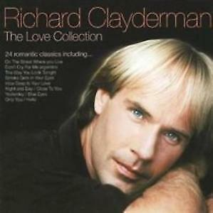 "CD RICHARD CLAYDERMAN ""THE LOVE COLLECION"". Nuevo y precintado"