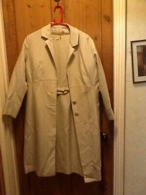 "Vintage 1940""s Dress And Coat Set"