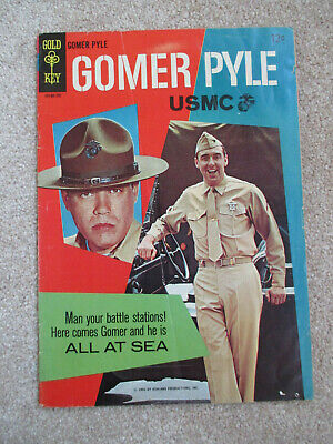 Gomer Pyle USMC Gold key comic 1966