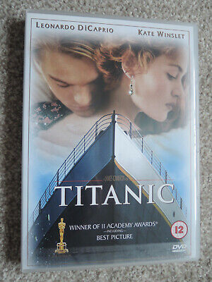 Titanic DVD (2003) Region 2 PAL Dual Layer THX - Leonardo DiCaprio Kate Winslet