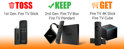 JAILBROKEN AMAZON FIRE TV Sticks 4K Gold Live 1,500 Channels