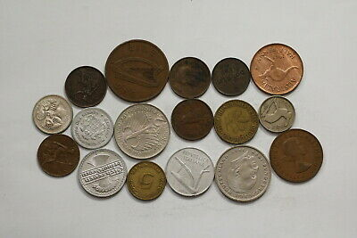 Many Old World Coins Useful Lot B10 Syi4