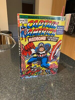 Captain America Omnibus ( Madbomb) By Jack Kirby 1st Edition First Print 2010