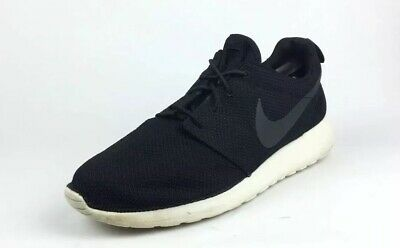 hot sale online ffdc8 56422 Nike Men s Roshe One Black White Running Athletic Shoes Size 13  75