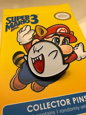 boo Collector Pins - Super Mario Bros 3