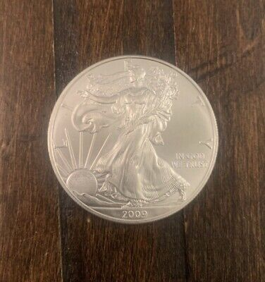 2009 1 oz AMERICAN SILVER EAGLE BRILLIANT UNCIRCULATED