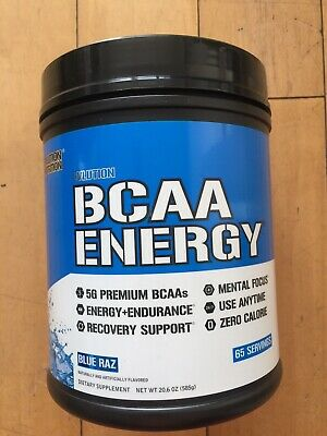 BCAA Energy Evlution Nutrition - 65 Servings - Supplement for Muscle Building