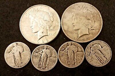 90% US Silver Coins - $3.00 Face Value - Culls