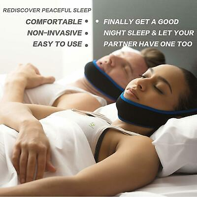 Anti Snoring Chin Strap Stop Snoring Solution NEW FREE SHIPPING