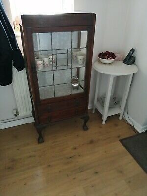 Edwardian display cabinet