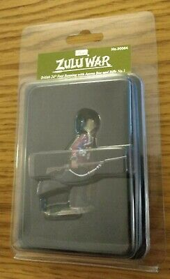 W. Britain 20064 British 24Th Foot Running With Ammo Box & Rifle #1 - Free P+P