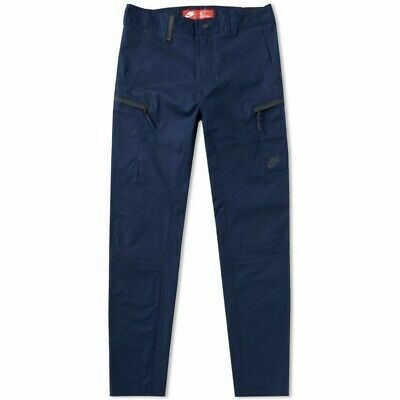 15cd4f2f3f52 Nike Tech Pack Bonded Woven Max Taper Fit Navy Blue Pants 861526-451 Men s  32