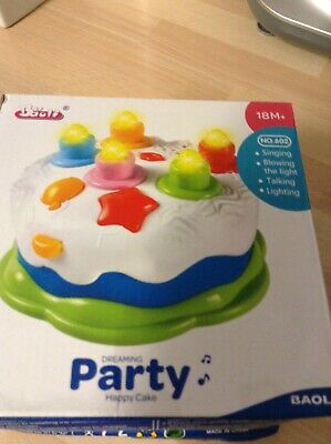 DREAMING PARTY HAPPY CAKE CHILDS TOY perfect birthday toy