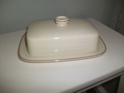 Wedgewood Peach Butter Dish