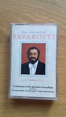 LUCIANO PAVAROTTI THE ESSENTIAL PAVAROTTI cassette tape album T5305