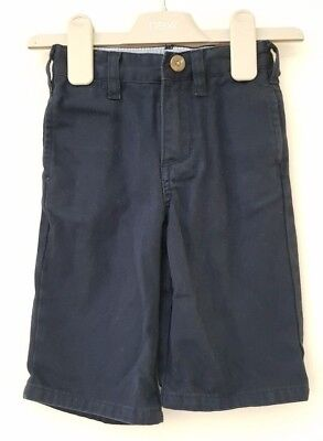 Boys Age 6-12 Months - Gap Navy Chino Trousers