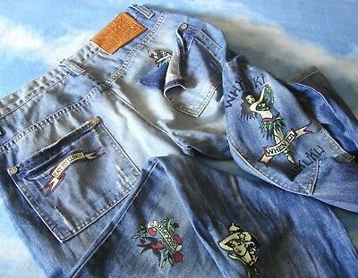 TROUSERS man vintage '90s DSQUARED 2 made in Italy TG 52 circa XL NEW!
