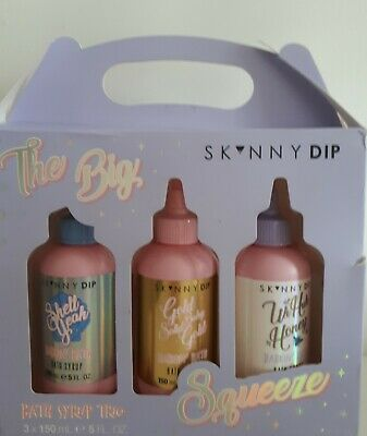 The Big Squeeze Bath Syrup Trio  Gift Set