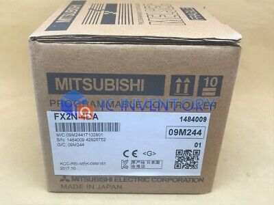 1Pcs New In Box Mitsubishi Fx2N-4Da Plc