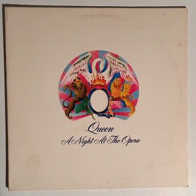 Queen A Night At The Opera LP 7E-1053 Columbia House Pressing LP 1975 VG