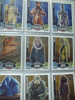 Star Wars Force Attax Cartas Coleccion Completa 240 Cards Topps